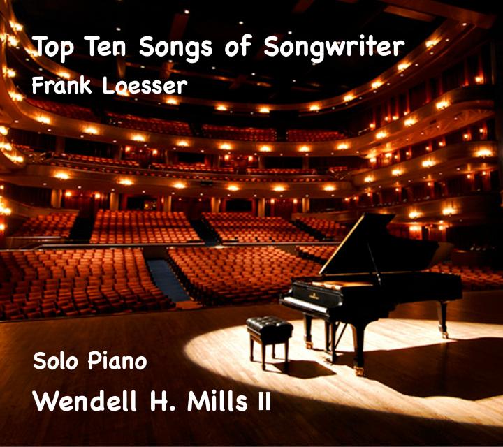 frank loesser top ten cd